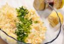 смешиваем лимон, сыр и прочие компоненты