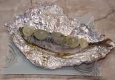 скумбрия запеченная в духовке в фольге под луком