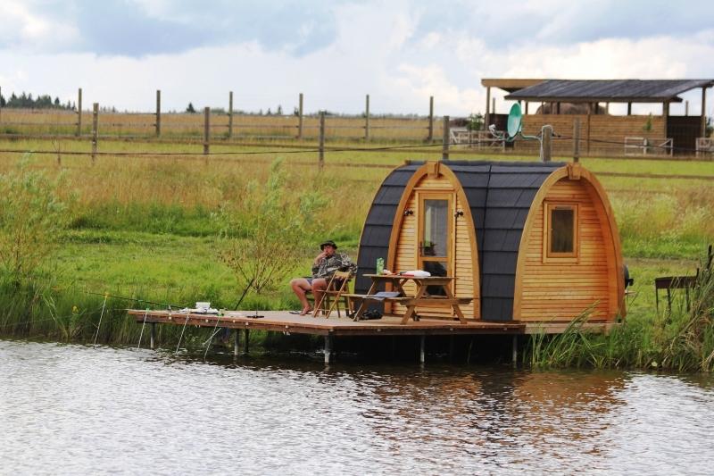 арендовать домик для рыбалки