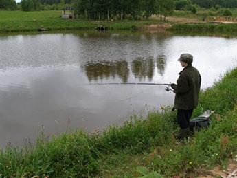 калуга рыбалка лесное