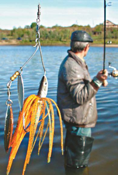 рыбалка на спинербейт видео