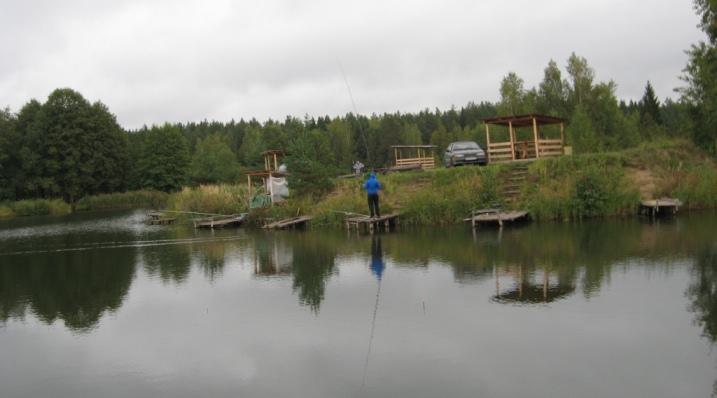 платная рыбалка в малинино