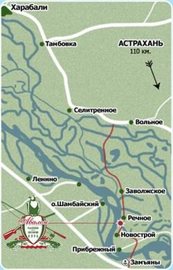 База Авалон на карте