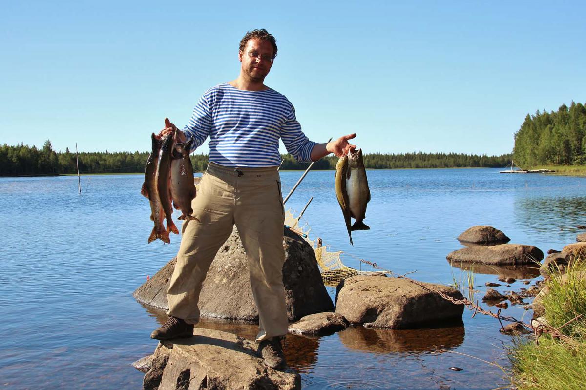 Где отдохнуть в карелии с рыбалкой