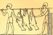 рисунок с древними рыбаками