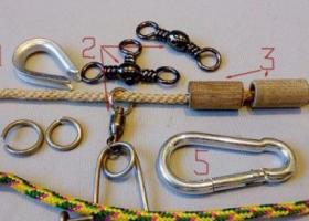 Самодельные карабины для рыбалки