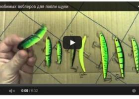 видео ловли щуки на воблеры