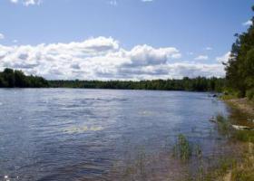Рыбалка на реке Бурная