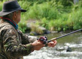 Ловля рыбы на перекате