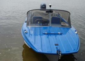 синяя лодка Казанка