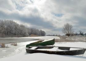 Зима в Астрахани