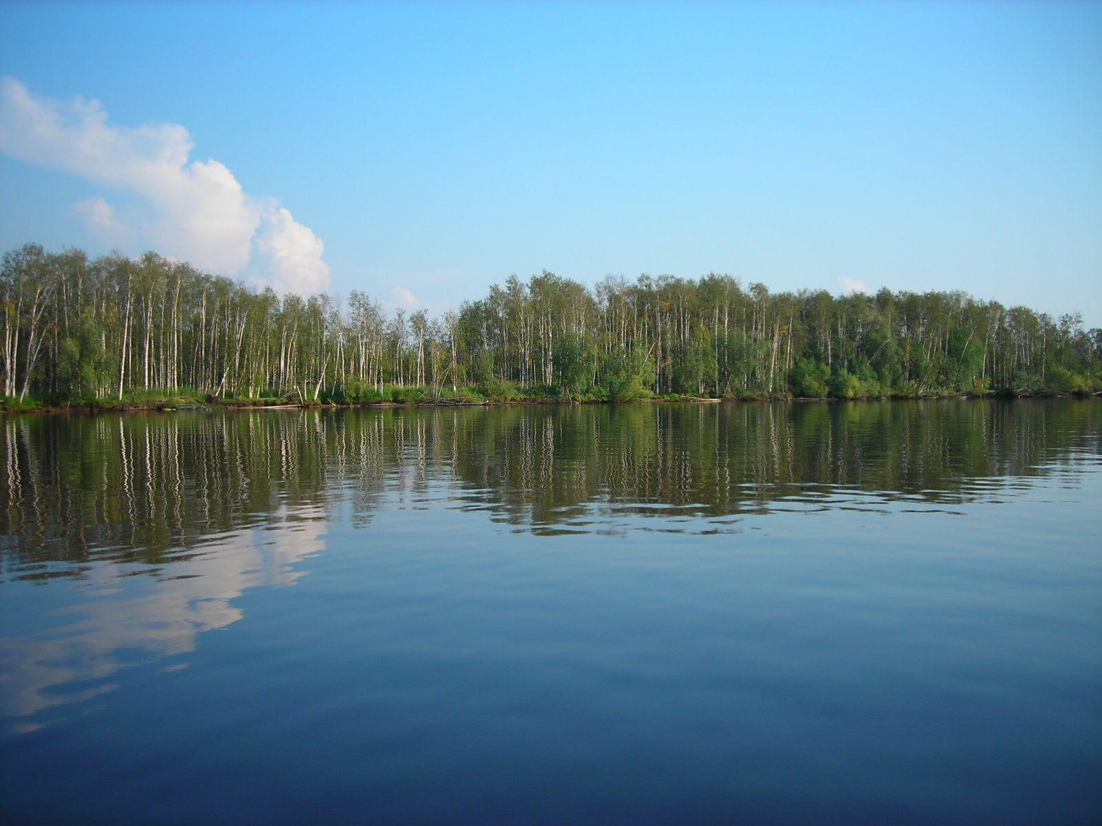 Река Северная Сосьва весной
