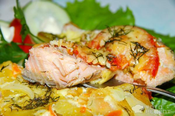Рецепты горбуши запеченной в духовке с картошкой 158