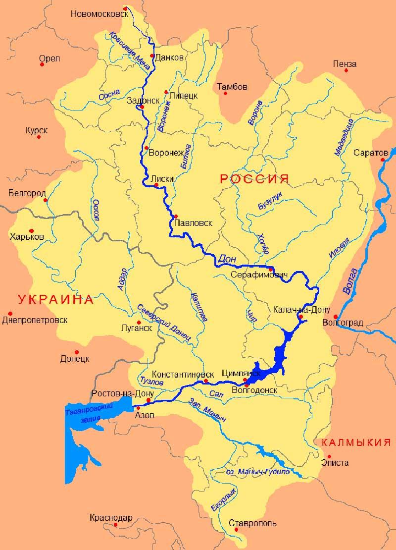 схема движения реки обь куда она впадает ?